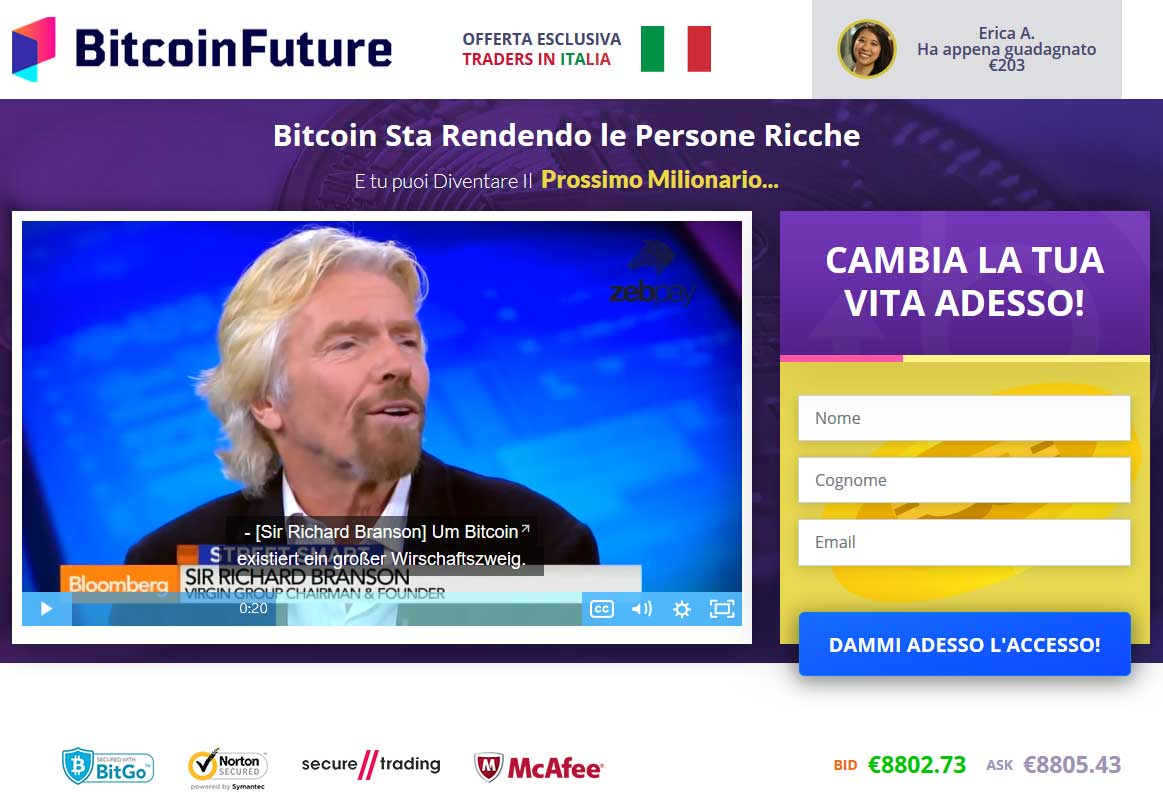 Bitcoin Future Truffa