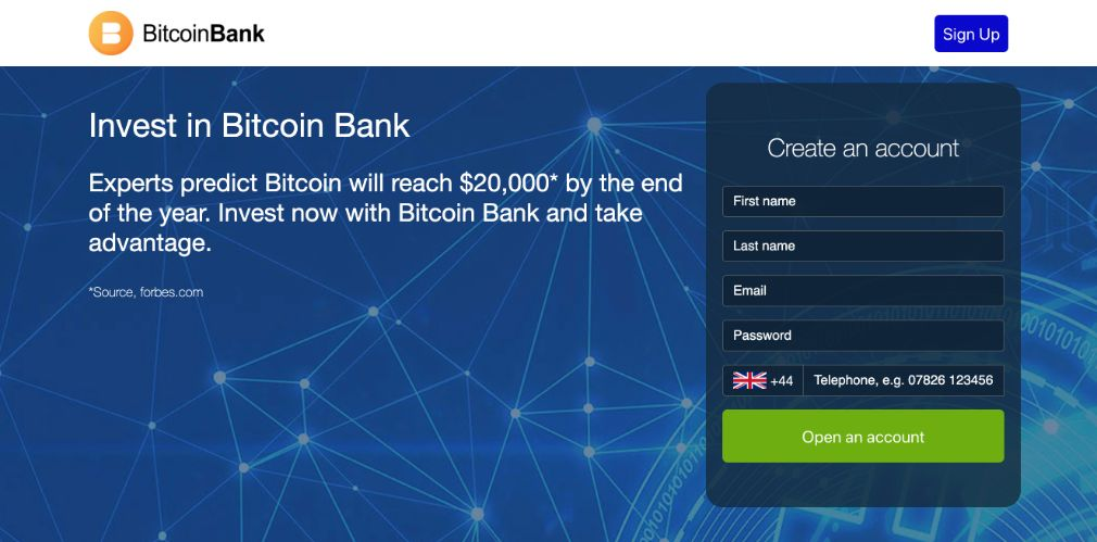 Crypto Bank Review