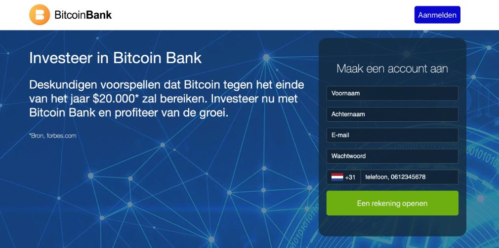 Crypto Bank Ervaringen